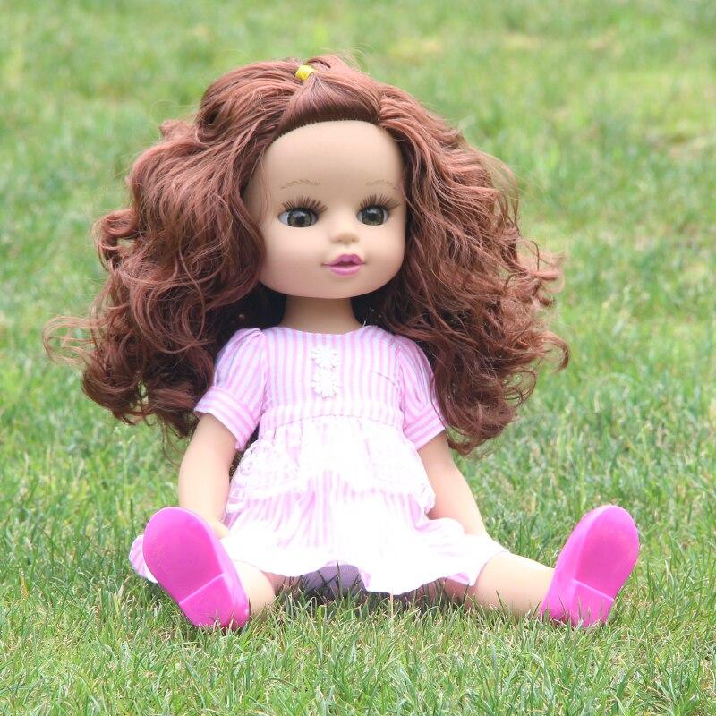 35CM NEW Baby Dolls Lifelike Toys For Girls Sleeping Accompany Doll Beautiful Lower Price Birthday Present